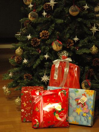 プレゼントそれぞれ