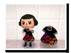 にじバラのドレス