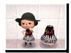 ごせんふのスカート